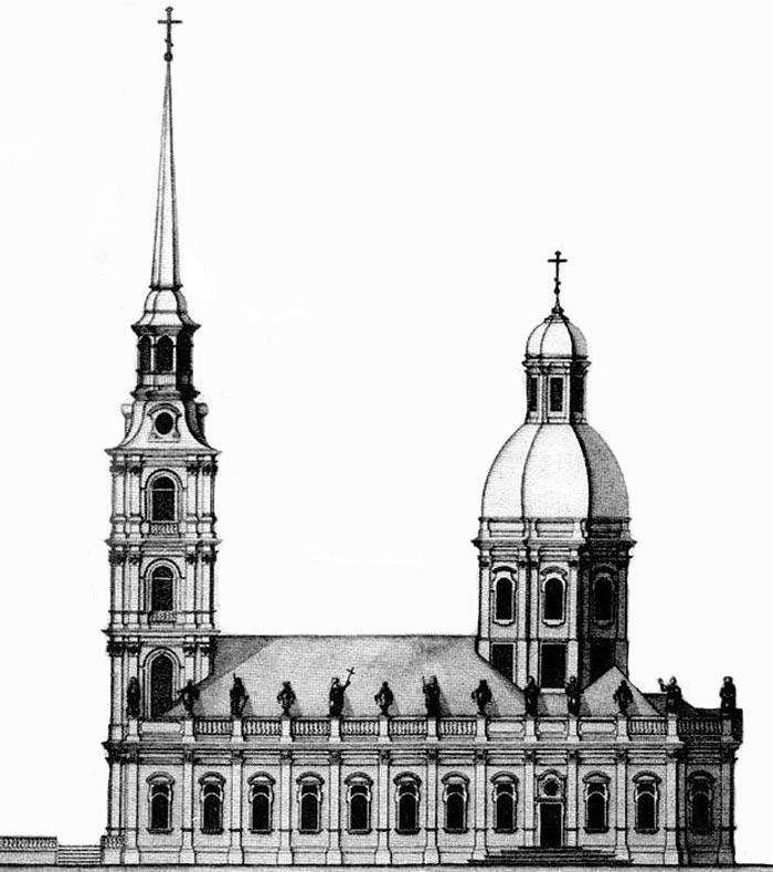 Скромная церковь терялась на фоне блистательного Невского проспекта.