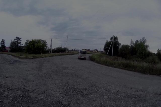 Действие происходит в 20 км. от Омска.