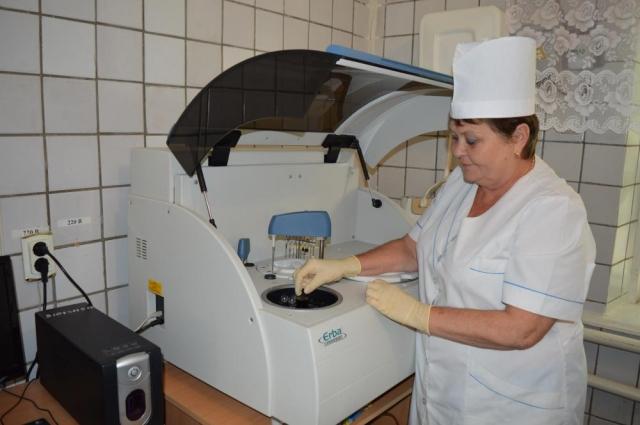 Залог успешной работы ЦРБ Куйбышевского района - не только квалифицированные кадры, но и современное точное оборудование