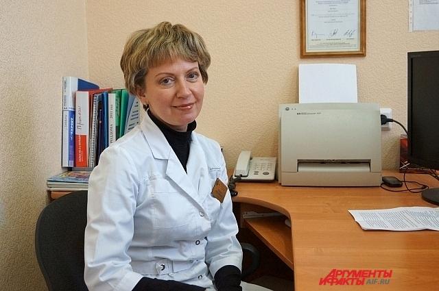 Биолог Марина Дубинская