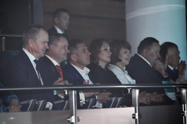 Гостями праздника стал президент РТ и его супруга.