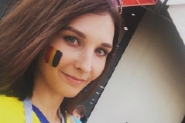 Анастасия Журина стала футбольной болельщицей еще в детстве