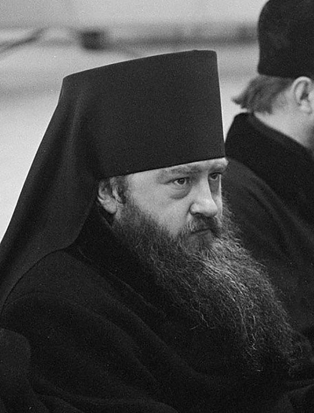 Епископ Никодим в феврале 1963 года.