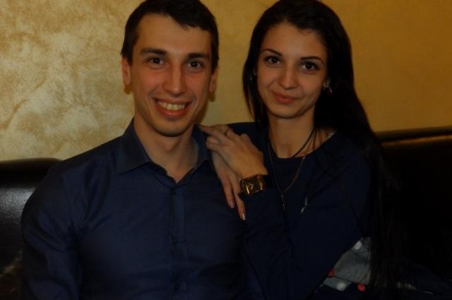 Артём и Оксана Ладатко.