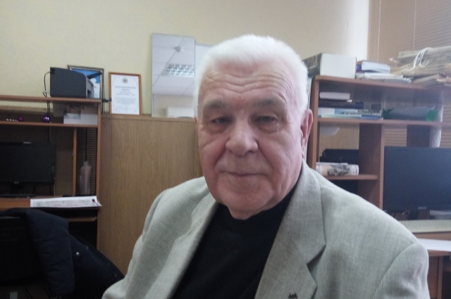 Виктор Семенович Федотов в гостях редакции