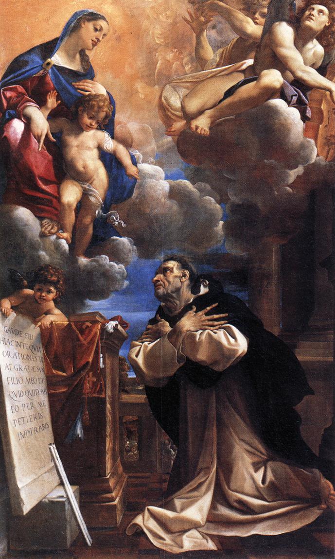 Лодовико Карраччи. Картина Святой Гиацинт