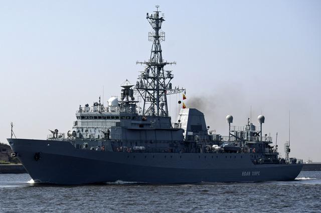 Средний разведывательный корабль проекта 18280 «Иван Хурс».