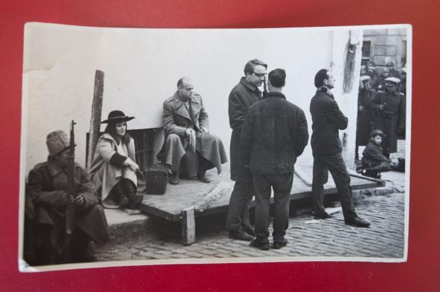 Фото со съёмок фильма «Бег» в главной роли Владислав Дворжецкий.  из архива Анны Калининой.