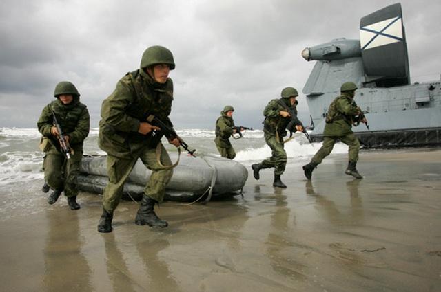 Морские пехотинцы, морпехи, учения, ТОФ