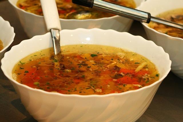 Супы во время поста должны быть или грибными, или крупяными, или овощными.