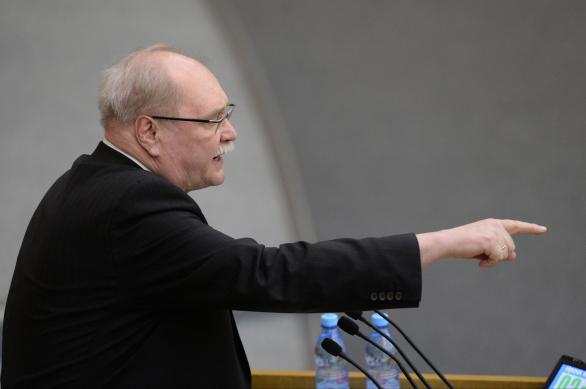 Владимир Бортко на заседании Госдумы