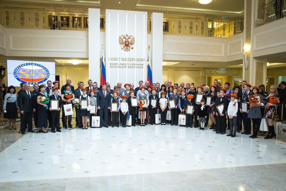 Награждение Анны Казаковой