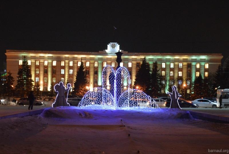 Новогодний Барнаул