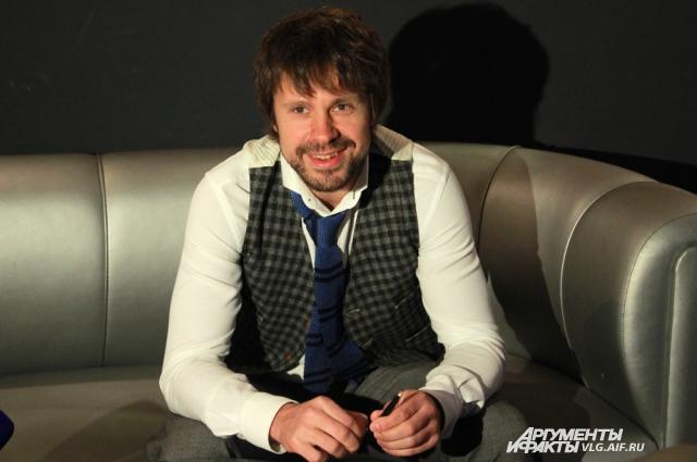 Актер Сергей Перегудов.