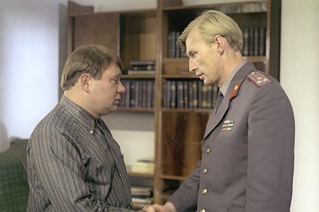 Евгений Леонов и Николай Олялин в фильме «Джентльмены удачи».
