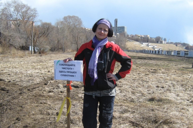 Психолог Юлия Гулакова уверена, что гражданская позиция способна повлиять на развитие города.