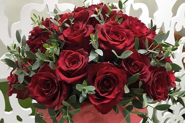 Мужчины часто выбирают красные розы.