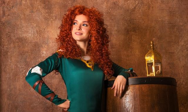 Принцесса Медира из мульфильма «Храбрая сердцем».