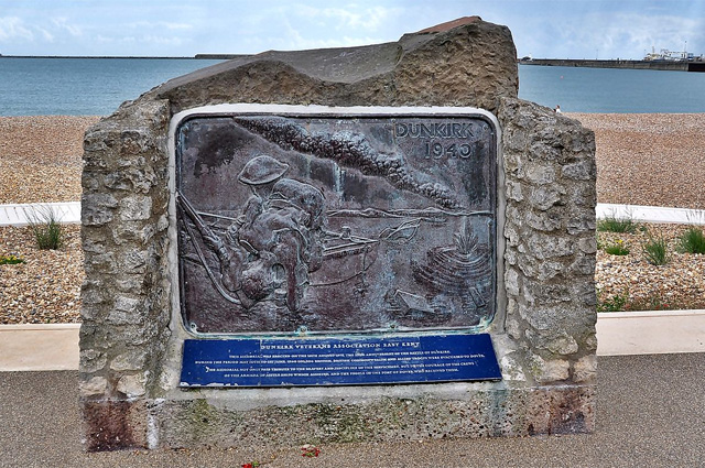 Памятник в Дувре.