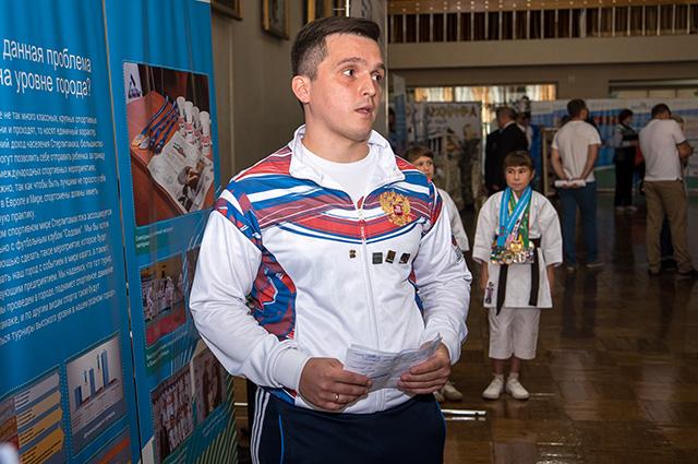 Александр Махновский, руководитель «Лиги стилевого каратэ»