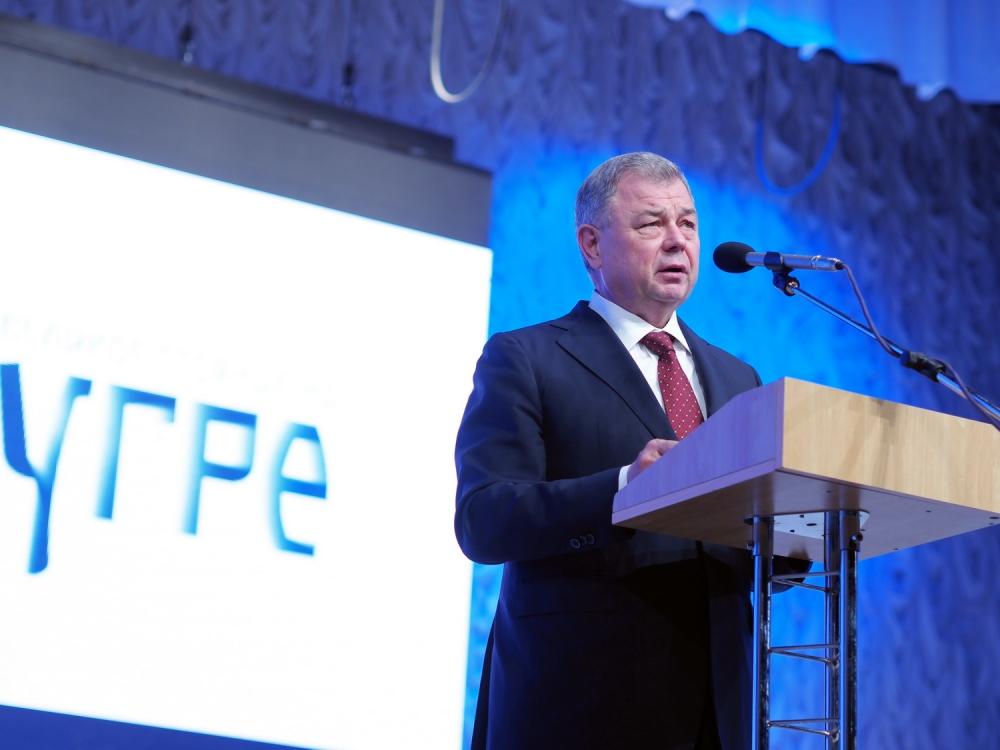 Калужан поздравил губернатор Калужской области Анатолий Артамонов.