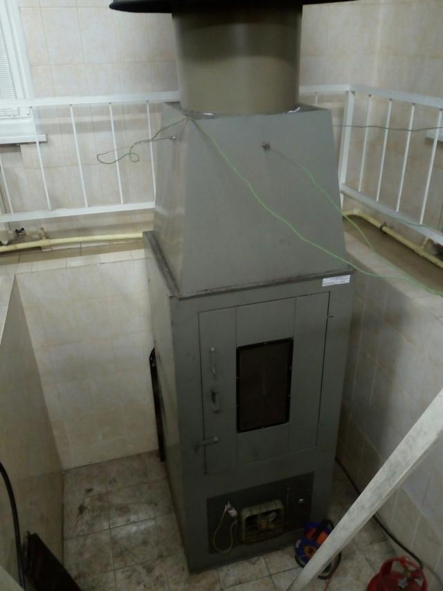 Специальная печка в лаборатории.