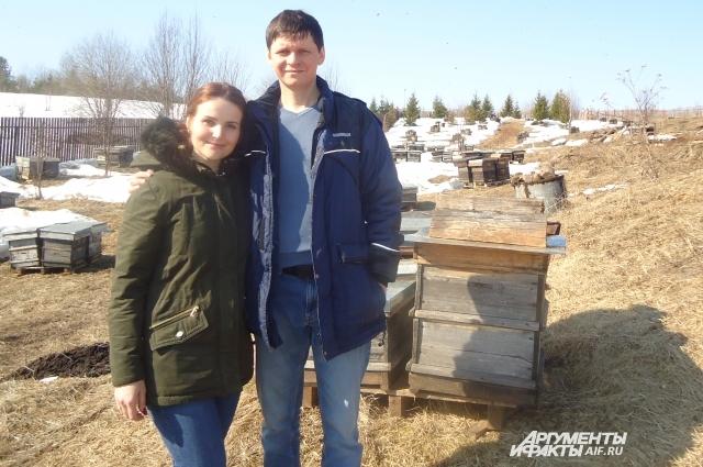 Василий планирует увеличить количество пчело-семей.