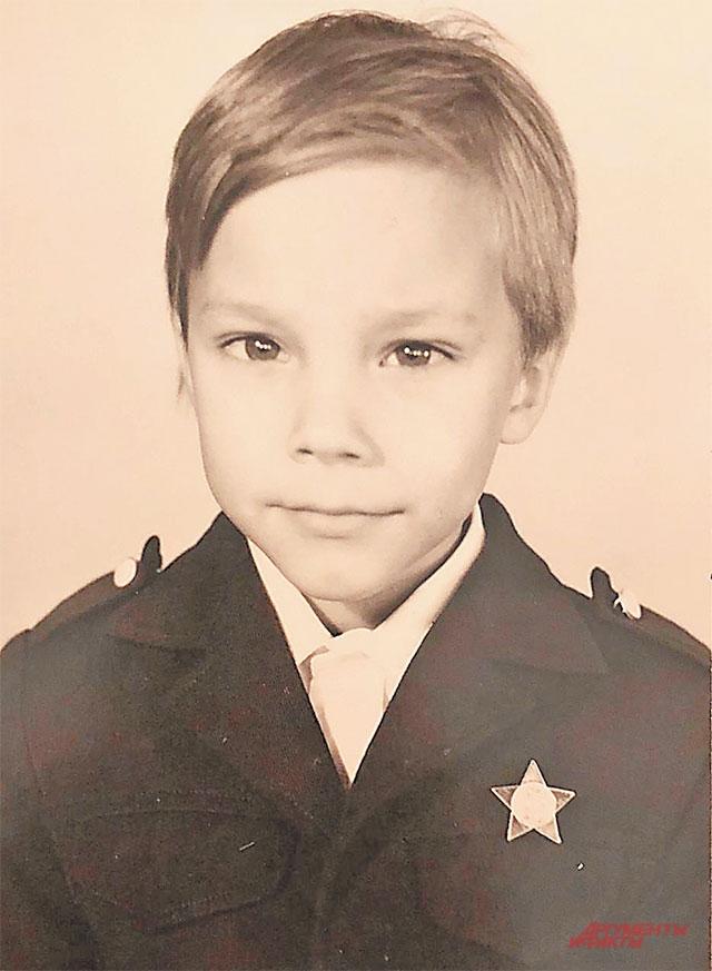 «Первая учительница была похожа на Ким Бессинджер». Андрей Чадов – ученик 1 «В» 1009-й школы.