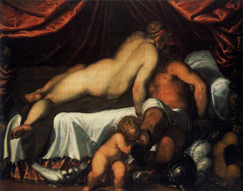 Джакомо Пальма Младший. Венера и Марс.