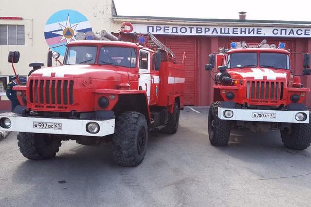 Пожарные автомобили могут пробиться практически везде.