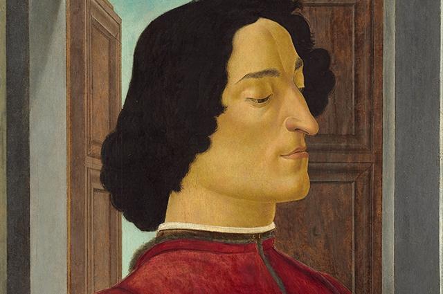 Портрет Джулиано Медичи . Сандро Ботичелли
