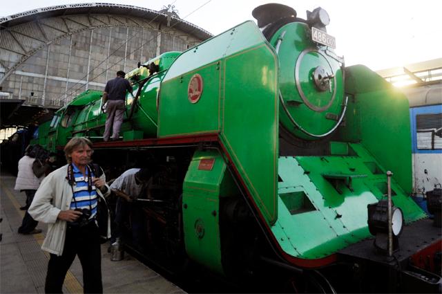 Cпециальный Поезд Уинтона отправился с Центрального вокзала Праги в Лондон по маршруту, которым следовали спасённые дети