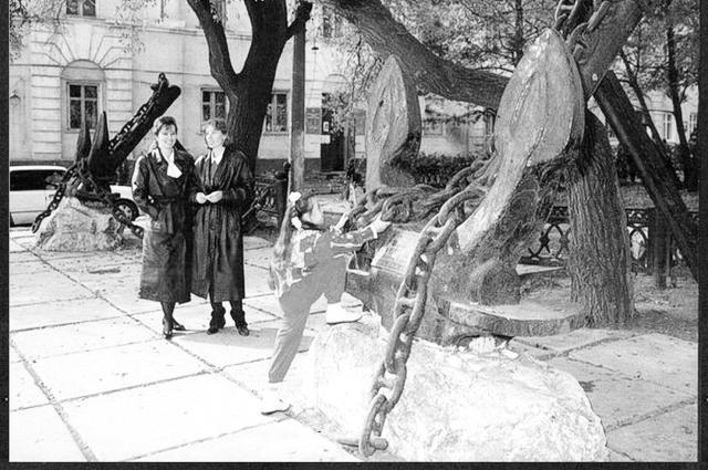 Как молоды мы были, гулять по Ленинской любили...