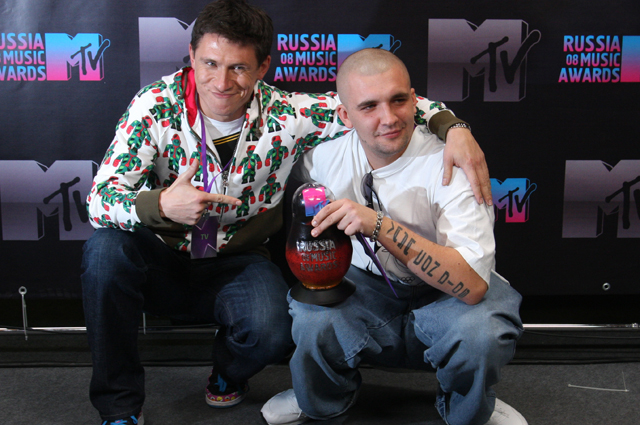 Баста и Тимур Батрутдинов.