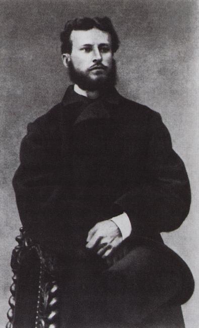 Василий Верещагин во время первой поездки на Кавказ.