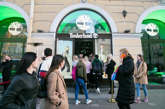 Магазин заработал на Невском проспекте.