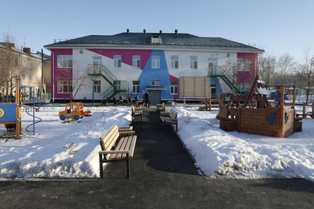 На реконструкцию детского сада №32 в Коркино РМК направила около 36 млн рублей.