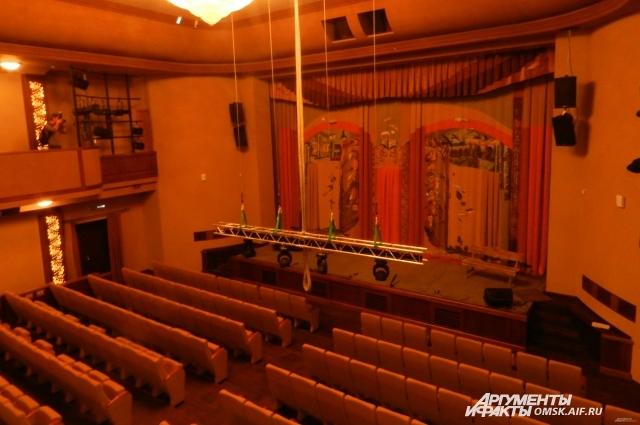 Зрительный зал театра.