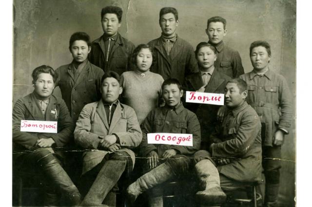 От двоюродного прадеда Осодоя Булутова осталась всего одна довоенная фотография 1934 года.