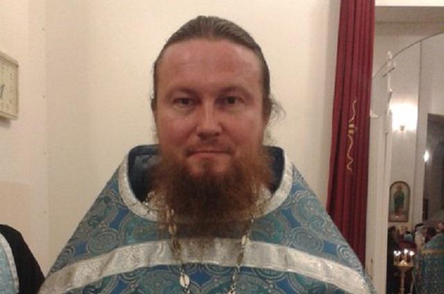 Священник Алексей Горшков
