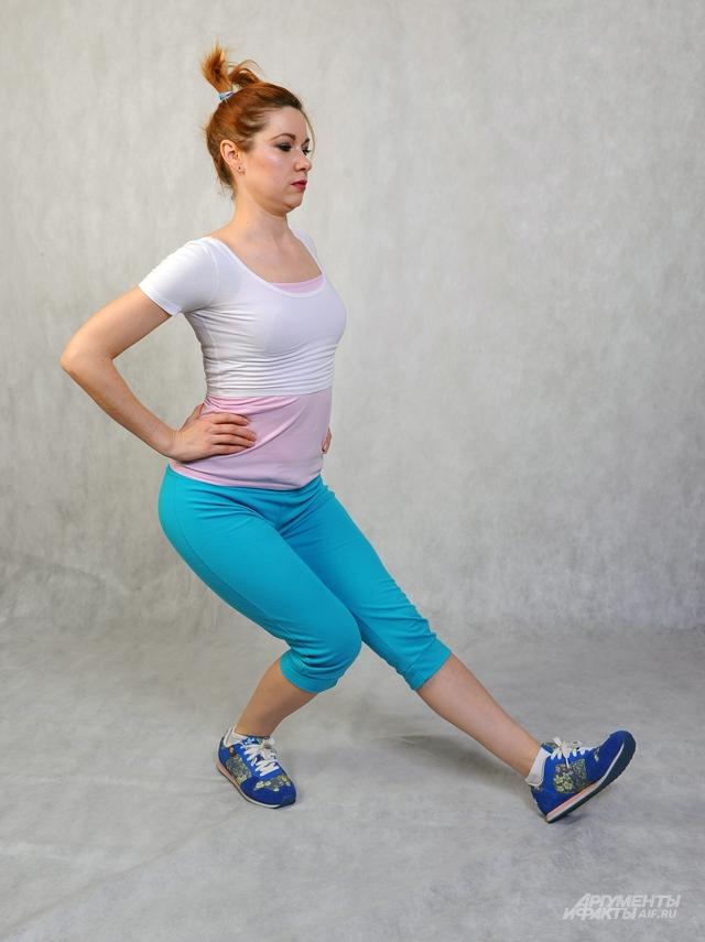 Комплекс упражнений для ягодиц и мышц живота