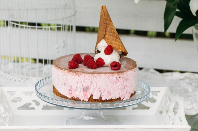 ледяной торт из мороженого