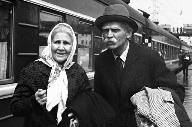 «Жили-были старик со старухой». 1964 год.