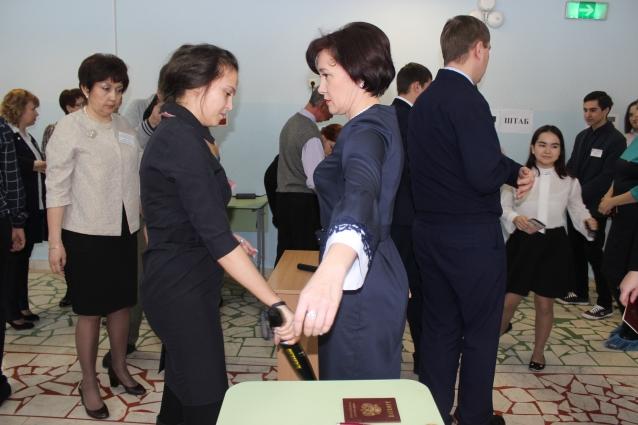 Министр образования РБ Гульназ Шафикова подверглась досмотру, как и все остальные участники родительского ЕГЭ.