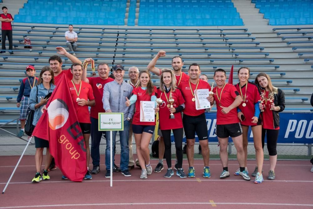 Команда ГК «Энсаф» завоевала главный приз спартакиады.
