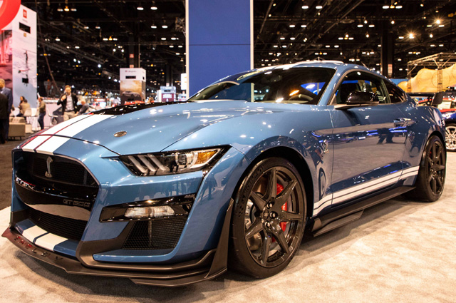 Mustang Shelby 500 GT.