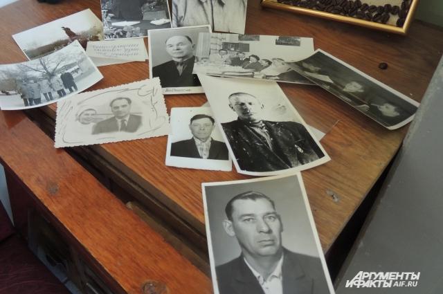 Фотографии спасённых русских солдат занимают отдельную папку в музее истории медицины Челябинска