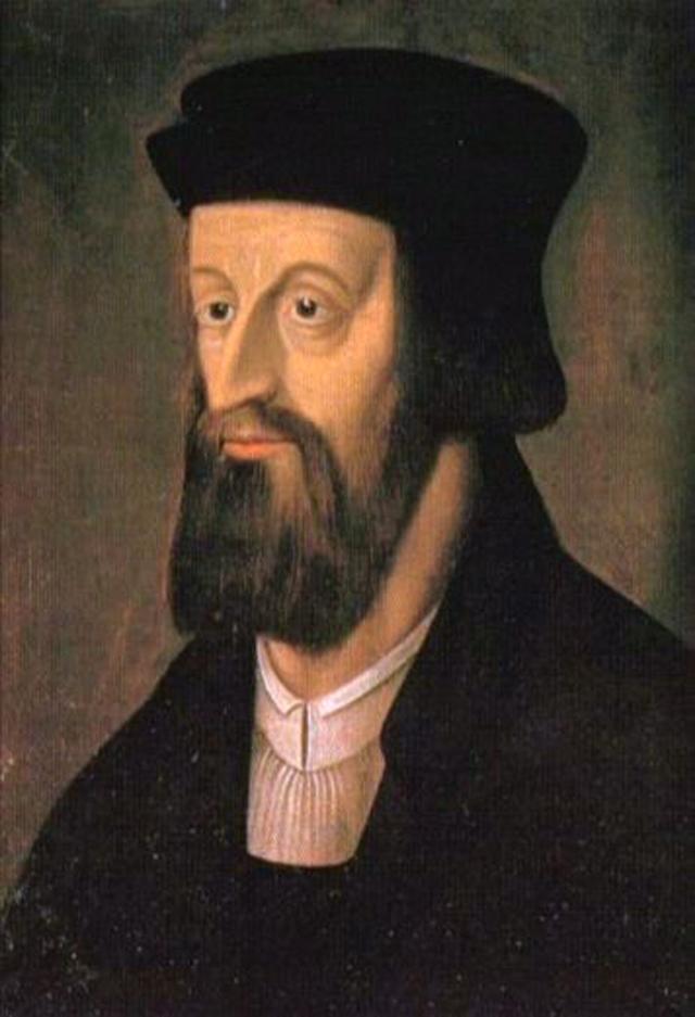 Ян Гус. Портрет неизвестного художника XVI века