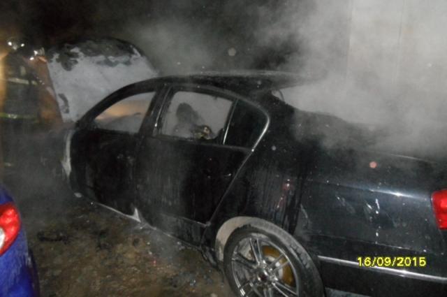 Пожар на Приупской.