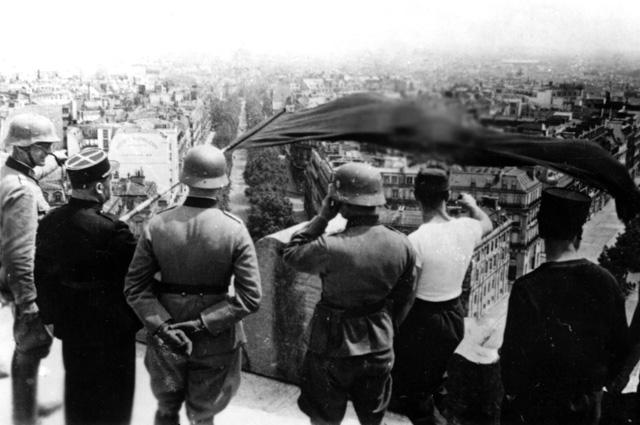 Объединённая под нацистским флагом Европа.